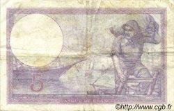 5 Francs VIOLET FRANCE  1924 F.03.08 TTB