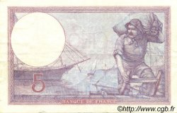 5 Francs VIOLET FRANCE  1926 F.03.10 pr.SUP