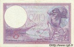 5 Francs VIOLET FRANCE  1927 F.03.11