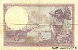 5 Francs VIOLET FRANCE  1931 F.03.15 TTB