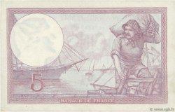 5 Francs VIOLET FRANCE  1933 F.03.17 SUP+ à SPL