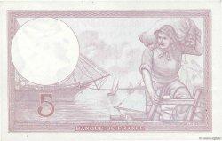 5 Francs VIOLET modifié FRANCE  1940 F.04.17 SUP