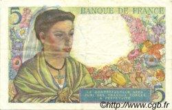5 Francs BERGER FRANCE  1943 F.05.01 pr.SUP