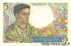 5 Francs BERGER FRANCE  1943 F.05.02 SPL