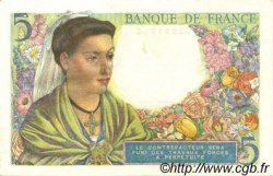 5 Francs BERGER FRANCE  1943 F.05.05 SPL