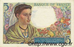 5 Francs BERGER FRANCE  1945 F.05.06 SUP