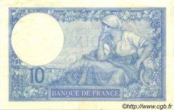 10 Francs MINERVE FRANCE  1916 F.06.01 SUP+