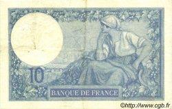 10 Francs MINERVE FRANCE  1918 F.06.03 TTB à SUP