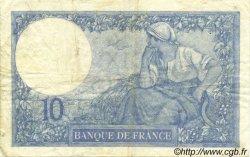 10 Francs MINERVE FRANCE  1921 F.06.05 TB