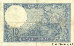 10 Francs MINERVE FRANCE  1926 F.06.10 TTB