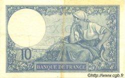 10 Francs MINERVE FRANCE  1926 F.06.10 TTB à SUP