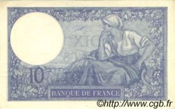 10 Francs MINERVE FRANCE  1926 F.06.10 SUP+