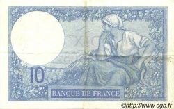 10 Francs MINERVE FRANCE  1926 F.06.11 TTB+