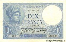 10 Francs MINERVE FRANCE  1928 F.06.13 SUP
