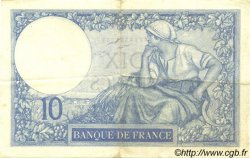 10 Francs MINERVE FRANCE  1928 F.06.13 pr.SUP