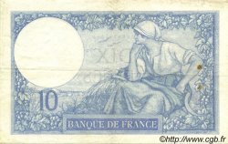 10 Francs MINERVE FRANCE  1928 F.06.13 TB+