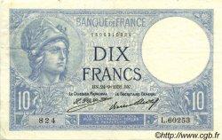 10 Francs MINERVE FRANCE  1931 F.06.15 TTB+