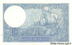 10 Francs MINERVE FRANCE  1937 F.06.18 pr.SPL