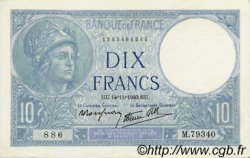 10 Francs MINERVE modifié FRANCE  1940 F.07.20 pr.SPL