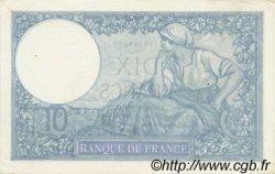 10 Francs MINERVE modifié FRANCE  1940 F.07.20 SUP+