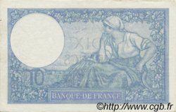 10 Francs MINERVE modifié FRANCE  1940 F.07.21 SUP+