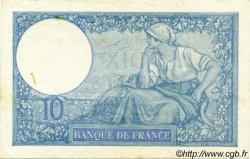 10 Francs MINERVE modifié FRANCE  1940 F.07.22 SUP à SPL