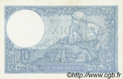10 Francs MINERVE modifié FRANCE  1940 F.07.22