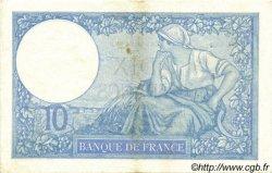 10 Francs MINERVE modifié FRANCE  1941 F.07.28 TTB+ à SUP