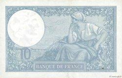 10 Francs MINERVE modifié FRANCE  1941 F.07.29 SUP