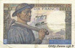 10 Francs MINEUR FRANCE  1941 F.08.02 TTB