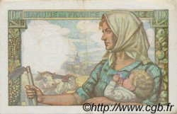10 Francs MINEUR FRANCE  1942 F.08.05 pr.SUP