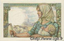 10 Francs MINEUR FRANCE  1944 F.08.12 SPL