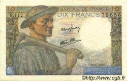 10 Francs MINEUR FRANCE  1946 F.08.15 SUP+