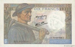 10 Francs MINEUR FRANCE  1946 F.08.16 SPL+