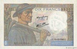 10 Francs MINEUR FRANCE  1946 F.08.16 SPL+