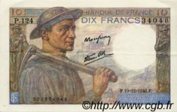 10 Francs MINEUR FRANCE  1946 F.08.16 SUP+