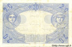 20 Francs BLEU FRANCE  1912 F.10.02 TTB+ à SUP