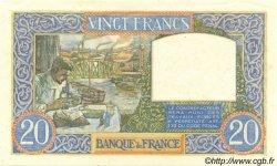 20 Francs SCIENCE ET TRAVAIL FRANCE  1940 F.12.06 pr.SPL