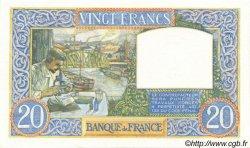 20 Francs SCIENCE ET TRAVAIL FRANCE  1942 F.12.21 SPL