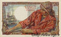20 Francs PÊCHEUR FRANCE  1942 F.13.04 SUP+