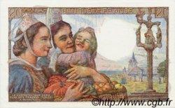 20 Francs PÊCHEUR FRANCE  1945 F.13.10 pr.NEUF