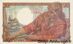20 Francs PÊCHEUR FRANCE  1948 F.13.12 pr.NEUF