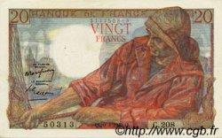 20 Francs PÊCHEUR FRANCE  1949 F.13.14 pr.SPL