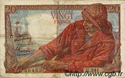 20 Francs PÊCHEUR FRANCE  1950 F.13.17 TB