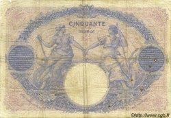 50 Francs BLEU ET ROSE FRANCE  1913 F.14.26 pr.TB