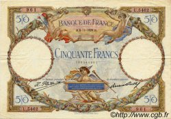 50 Francs LUC OLIVIER MERSON FRANCE  1929 F.15.03 TTB