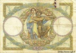 50 Francs LUC OLIVIER MERSON FRANCE  1930 F.15.04 B à TB