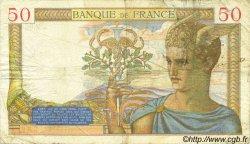 50 Francs CÉRÈS FRANCE  1935 F.17.06 TB