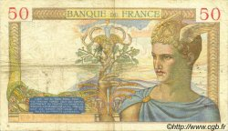 50 Francs CÉRÈS FRANCE  1935 F.17.19 pr.TTB