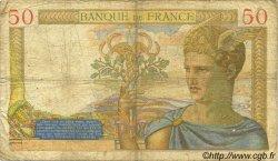 50 Francs CÉRÈS FRANCE  1936 F.17.22 pr.B